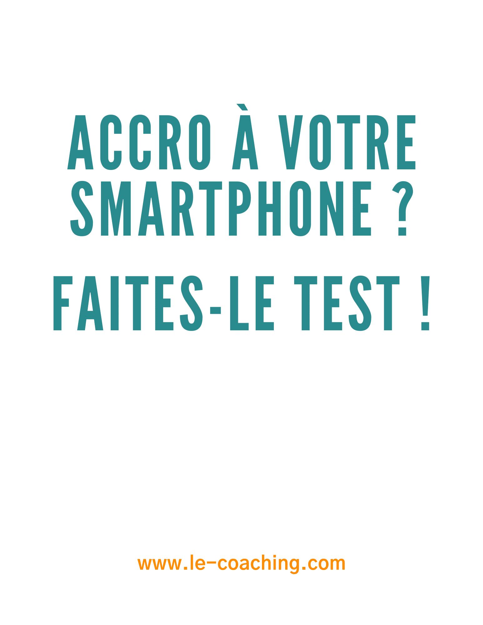 test - accro au smartphone - cover